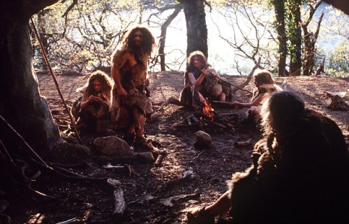 Neanderthal man WALL TO WALL TELEVISION LTD for andy.